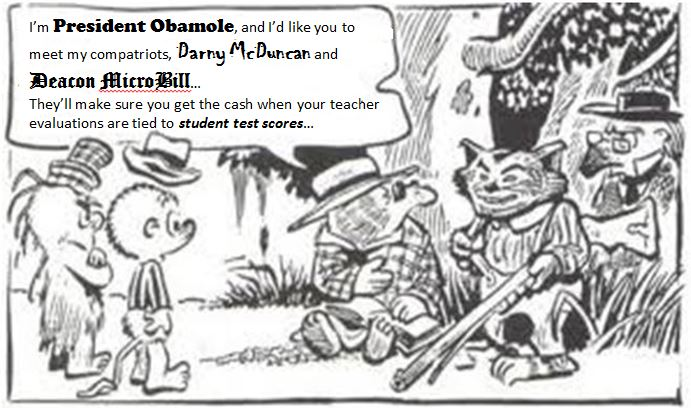 Obamole Payment for Testing